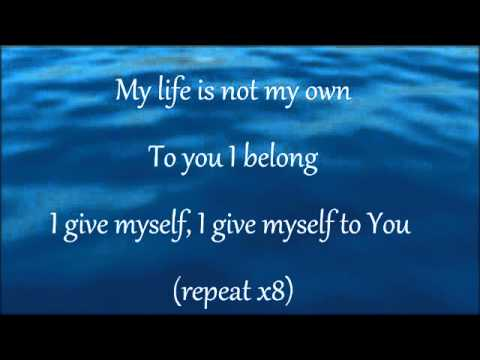 I give myself away and Here I am to worship