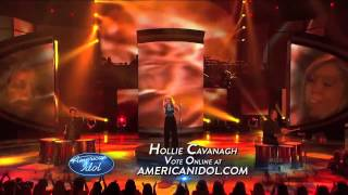 "Hollie Cavanagh performs ""Rolling in the Deep"""