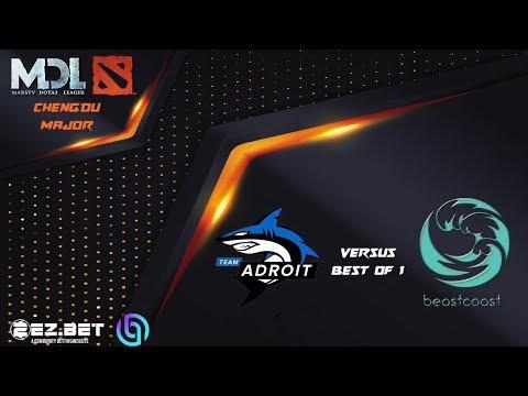 Adroit VS Beastcoast | MDL Chengdu Major | Lower Bracket