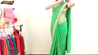 Wear Saree Perfectly to Look Gorgeous & Dance Well in Party Just In 4 Mints | Bollywood Perfect Sari