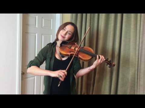 Solo Irish Violin Tune, King of The Faeries