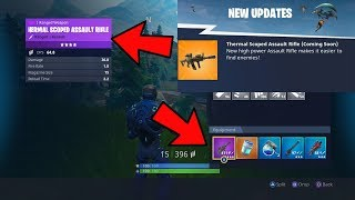 FORTNITE NEW THERMAL ASSAULT RIFLE GAMEPLAY! NEW WEAPON THERMAL SCOPED RIFLE! - Sol @BlazedRts