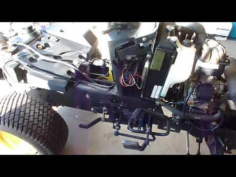 john deere 425 disassembly part 1 youtube Starter John Deere 425 Engine Diagrams