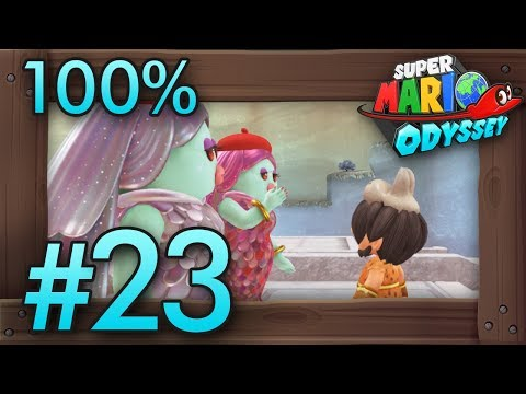 Super Mario Odyssey 100% Walkthrough Part 23 | Lake #2 & Lost Kingdom #2 (All Moons & Coins)
