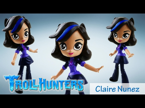 Netflix DreamWorks TrollHunters Claire Doll Custom DIY Toy Tutorial| Evies Toy House
