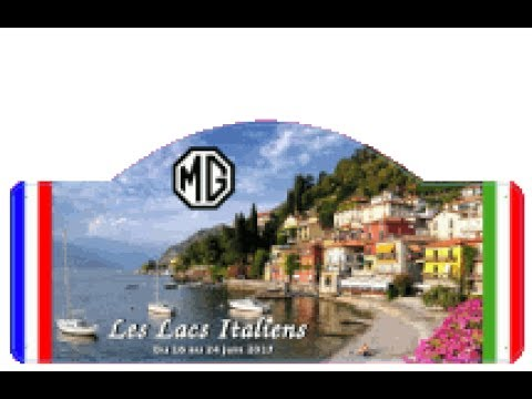 Sortie Forum MG contact ''Les lacs Italiens'' 2017
