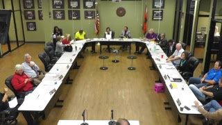 Executive and Finance Committee Meeting - 10/16/2018
