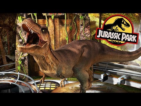 REXY & THE RAPTOR SQUAD, JURASSIC PARK THEMES | Jurassic World Table Pack (Pinball FX3 DLC)