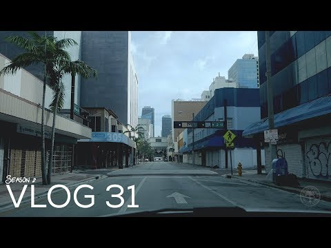 Miami Police VLOG: Hurricane Irma (Miami Is Empty)