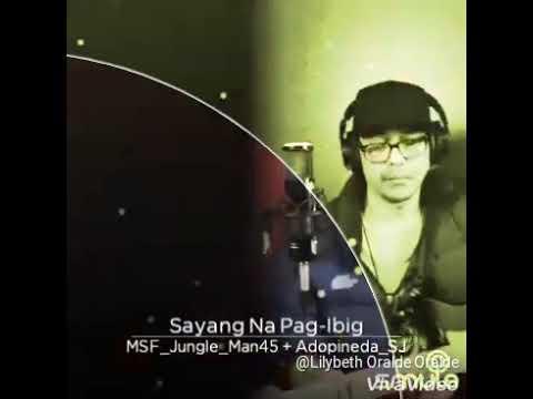 SAYANG NA PAG-IBIG/lyric/SONG BY ANDREW PENIDA/COMPOSED BY ANDY LOCRIANA