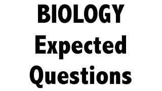 Expected Biology / science MCQ questions for SSC CGL / RAILWAYS thumbnail
