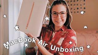 2020 mac book air unboxing