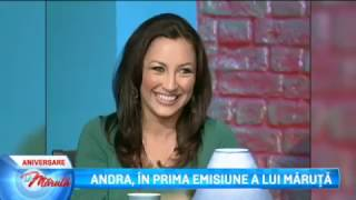 Andra, in prima emisiune a lui Maruta