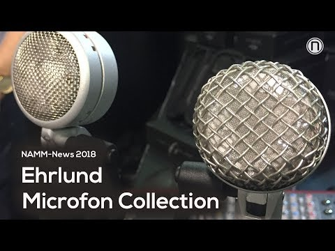 NAMM-News 2018: Ehrlund Microphones