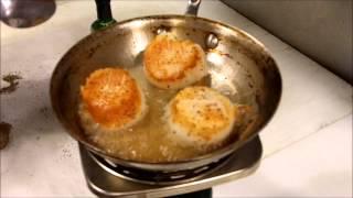 How To Sear Sea Scallops