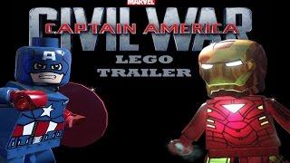 Lego Captain America Civil War trailer 1