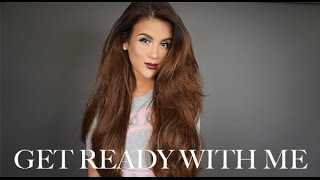 Get Ready With Me: Makeup + Hair