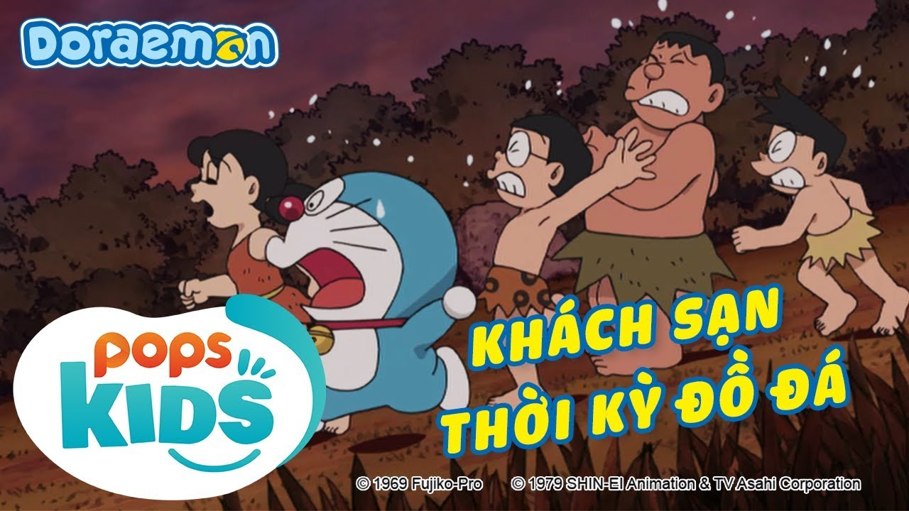 [S6] Doraemon Tập 300 – Trải Nghiệm Khách Sạn Thời Kỳ Đồ Đá – Hoạt Hình Tiếng Việt