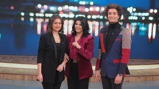 الجزء الأول من حلقة تحدي هبة مجدي و محمد محسن في معكم منى الشاذلي