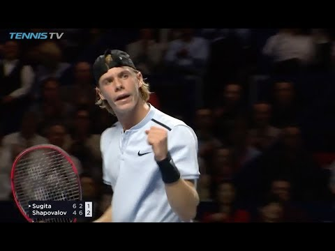 Shapovalov stars in Switzerland | Basel 2017 Highlights Day 1