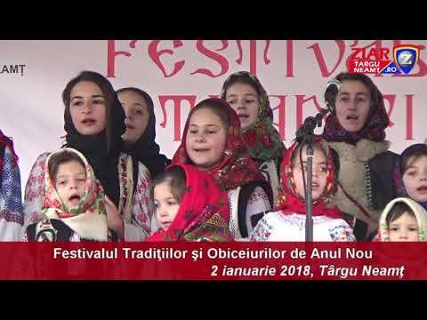 2 ianuarie festival de datini la tg neamt-complet