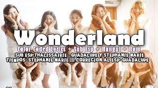 Gugudan (구구단) Wonderland [Color Coded Lyrics] (Sub Español/Hangul/Roma)