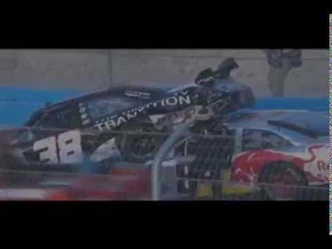 Top 5 David Gilliland Crashes