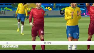 FTS15 Mod UEFA EURO 2016 Brazil VS Portugal