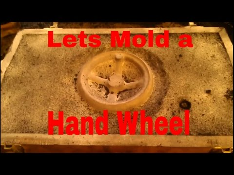 How to mold a hand wheel for the brown and sharpe horizontal mill
