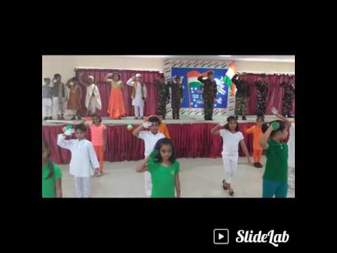 Meridian School Banjara Hills, Independence Day Assembly( Primary2016)
