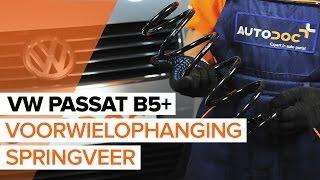 Hvordan bytte forhjulsopphengs spiralfjær på VW PASSAT B5+ [BRUKSANVISNING]
