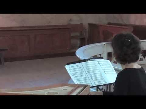 Corina Marti plays music from Codex Faenza on late medieval harpsichord