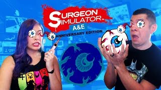 """WORST EYE SURGERY"" - Co-Op- Surgeon Simulator: A&E Anniversary Edition"