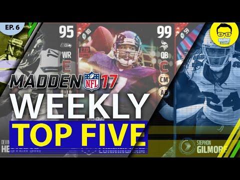 "Madden 17 Weekly Five - Ultimate Legend 99 OVR Randall Cunningham - ""Madden 17 Ultimate Legends"""