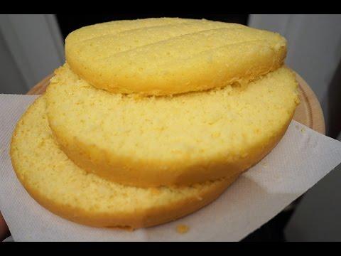 Бисквит рецепт в мультиварке для торта