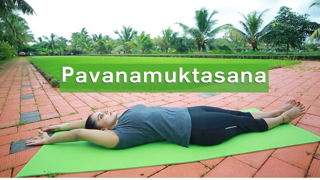 Yoga For beginners Pavanamuktasana by Yogarogyam | English