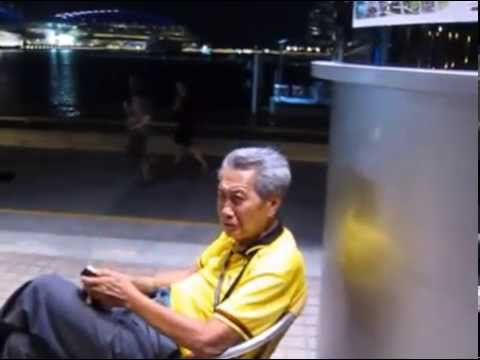 Singapore senior adult thinks Hell will be fun...Pray for his soul