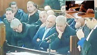 .لحظة نطق القاضي بالأحكام الابتدائية على أويحيى ، سلال ، بوشوارب و حداد