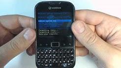 Vodafone Smart Chat Zte P752D hard reset