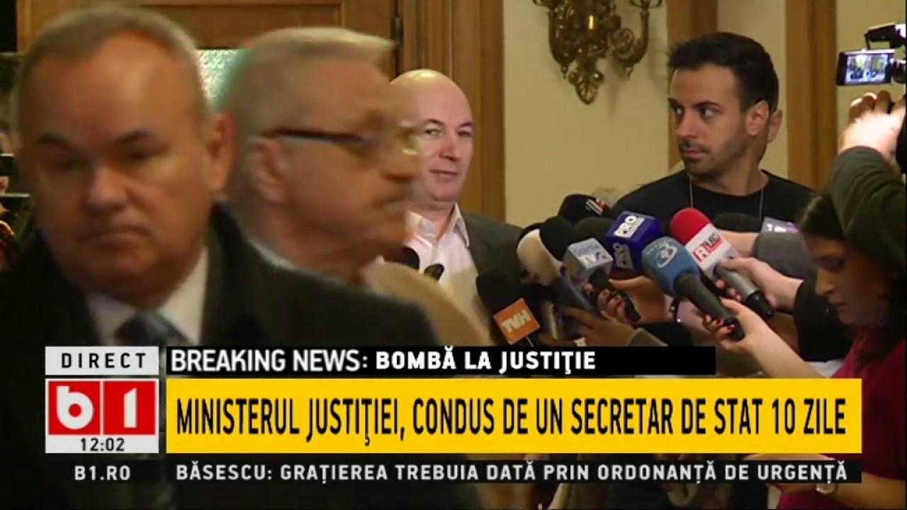 Codrin Ștefănescu: Am promis că scoatem cătușele din România! Mergem până la capăt!