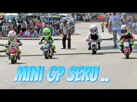 Anak Kecil Balap Motor Umur 3-10 Tahun Berani Ngebut - Pocket Bike Racing Kids (MINI GP Indonesia)