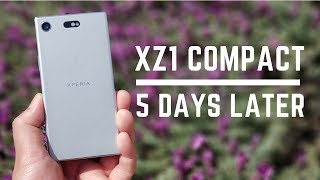 Sony Xperia XZ1 Compact Hands-On First Impressions - 5 Days Later