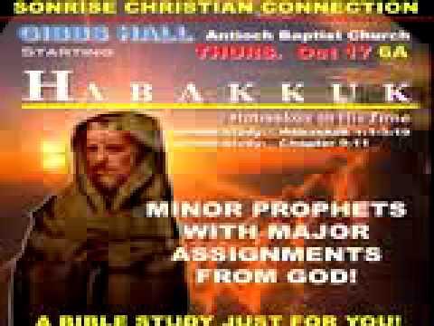 Prophet Habakkuk 1