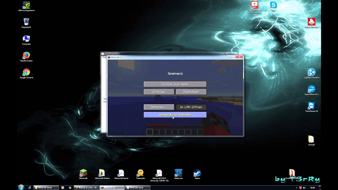 HowToTutorial Minecraft WLan Server Erstellen OHNE Hamachi - Minecraft server erstellen ohne portfreigabe