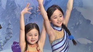 【本田望結・紗来 姉妹】 アナと雪の女王 氷の上のスペシャルコラボが実現!