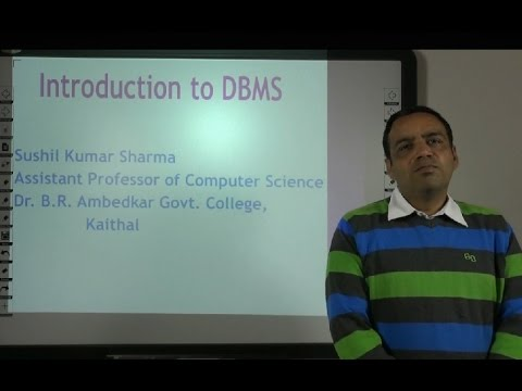 Database Management System Introduction In Hindi Under E