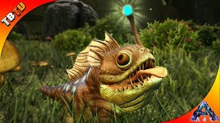 MY NEW FAVORITE CREATURE! LANTER PUG TAMING AND BREEDING! Ark: Aberration DLC Gameplay E1