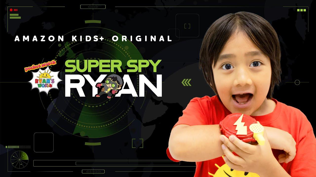 "Download New Trailer of Ryan's World Original Amazon Kids+ Show, ""Super Spy Ryan"""