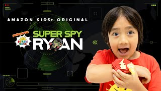 New Trailer of Ryan&#39s World Original Amazon Kids+ Show, &quotSuper Spy Ryan&quot