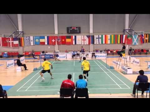 Eurasia Final MD Daniel Nikolov Ivan Rusev vs Jordan Corve Julien Maio
